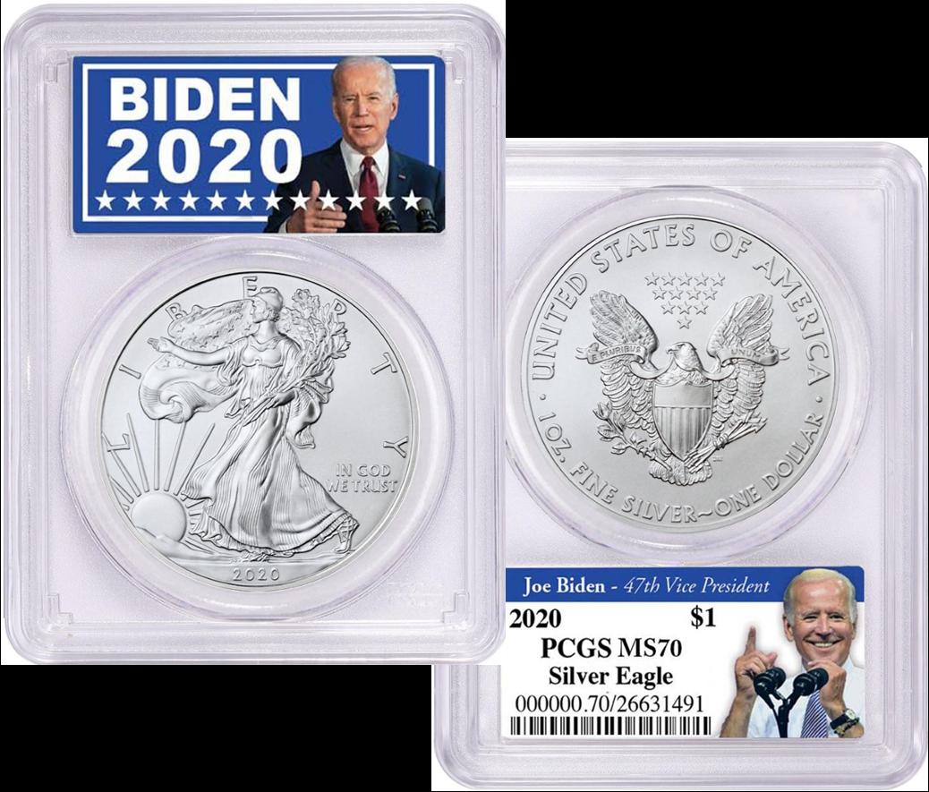 Biden 2020 Coin