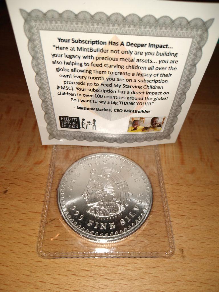 Aztec Silver Round