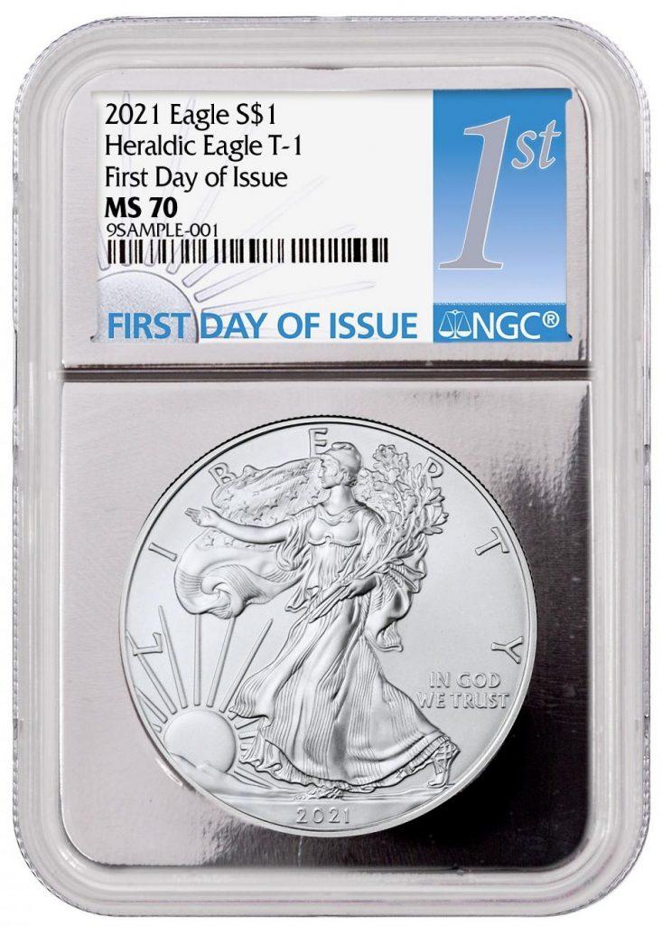 Silver Foil Silver Eagle 2021