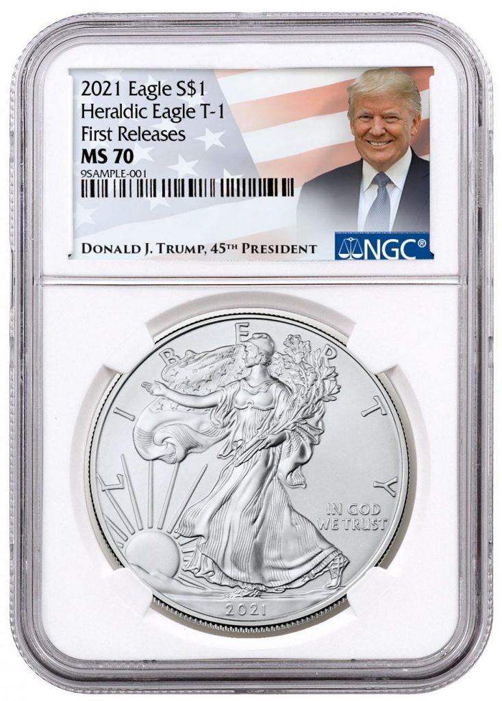 Trump 2021 American Silver Eagle